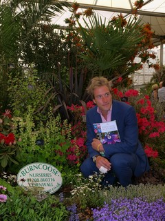 Ben Fogle At Burncose Stand