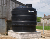 Rainwater tanks at Caerhays Barton Farm