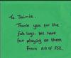 Thank you Jaimie