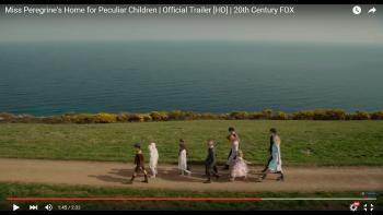 Miss Peregrine's Home for Peculiar Children - location Caerhays