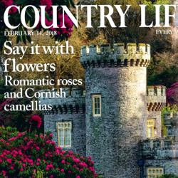 Caerhays on Cover of Country Life Magazine