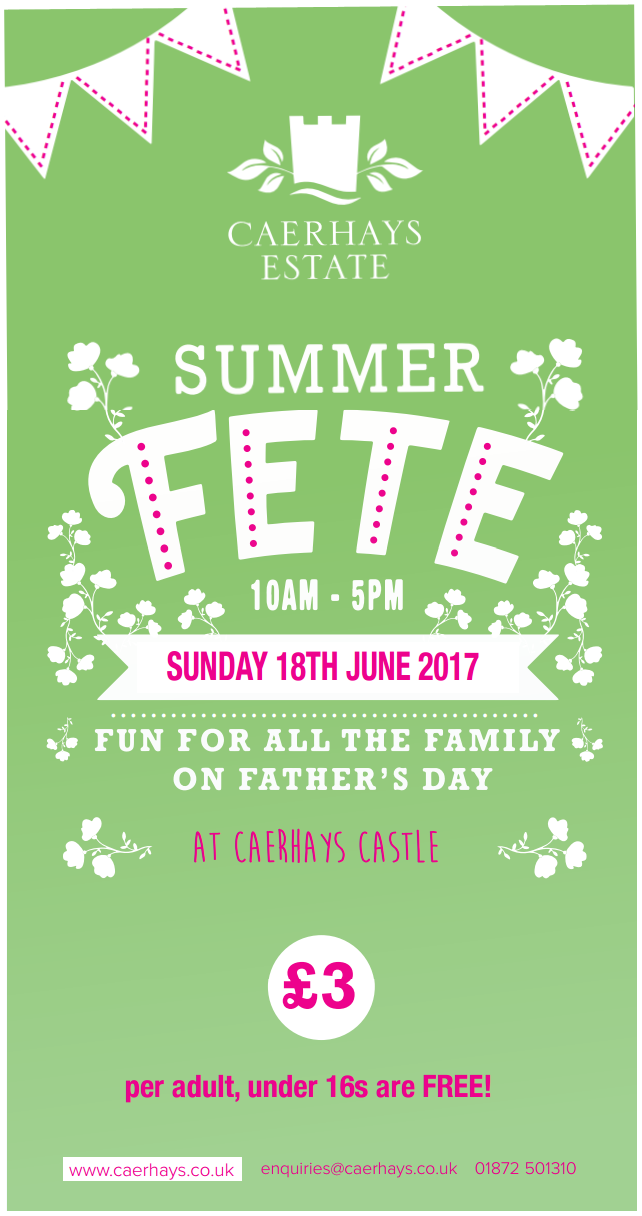 Summer Fete Flyer