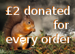 £2 donation for orders