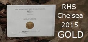 RHS Chelsea 2015 Gold Award