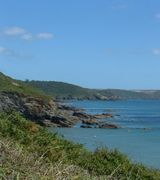 Porthluney Beach, Caerhays