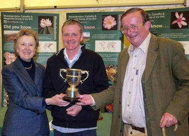 Charles Williams and Jaimie Parsons with RHS Cup