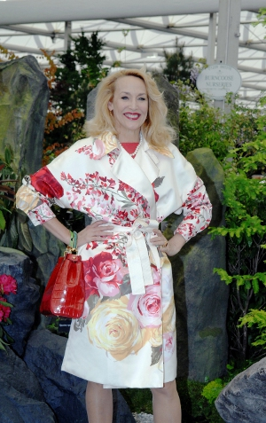 Jerry Hall on the Burncoose Stand 2014