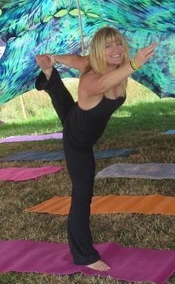 Jenny Dufton Yoga at The Vean, Caerhays