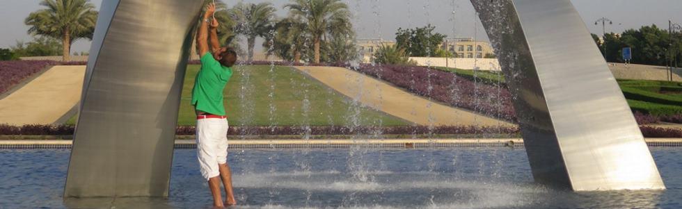 Giles Rayner - Water Sculptures
