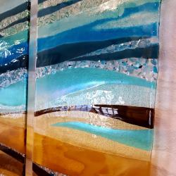 Ali's fused glass art pictures