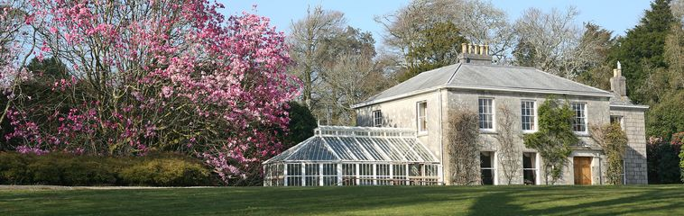 Burncoose House in Spring