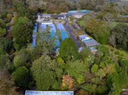 Aerial Views from Burncoose Gardens 3