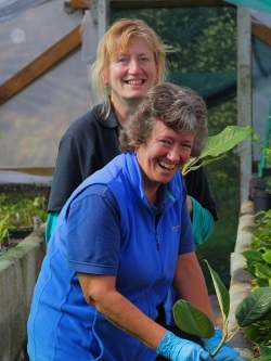 Louisa, Head of progagation at Burncoose Nurseries
